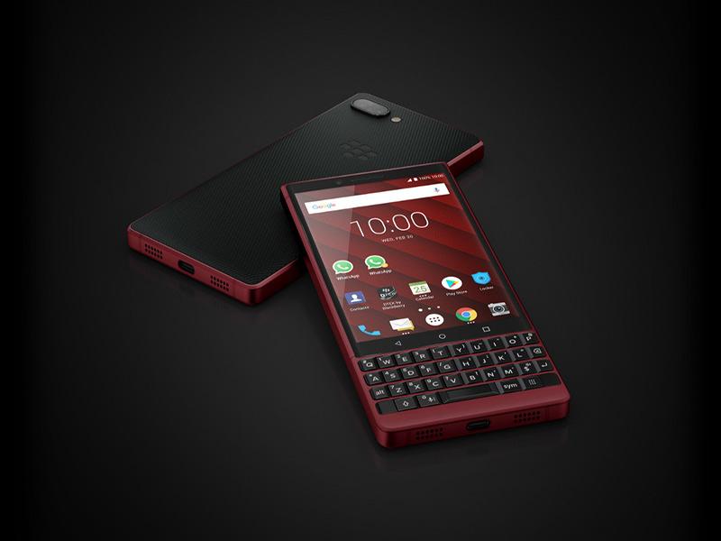 BlackBerry KEY2 به تازگی ارتقا یافته است