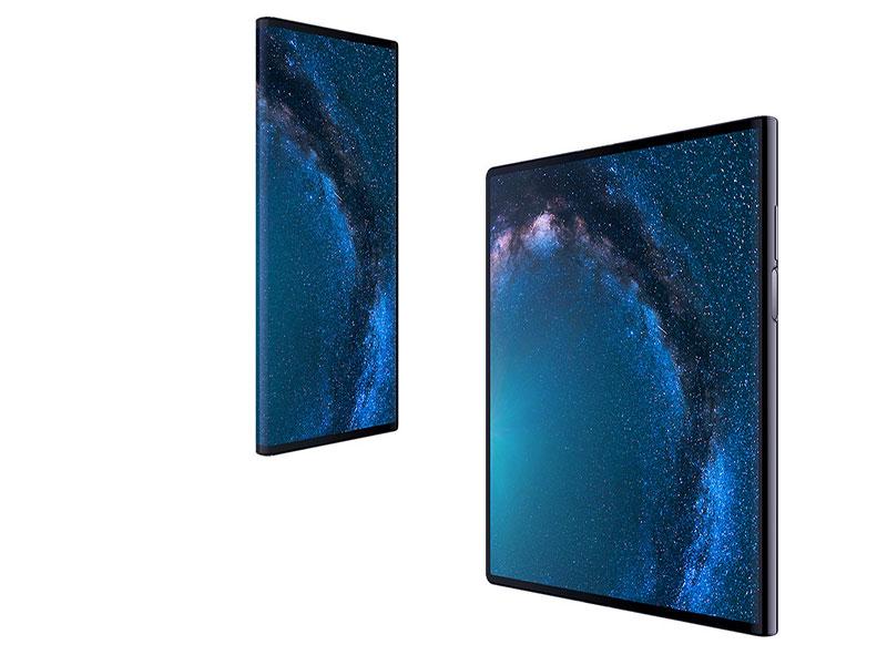 گوشی تاشدنی هوآوی میت ایکس با نمایشگر تمامصفحه و مودم 5G معرفی شد